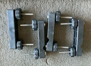 4 Scotty Downrigger Rail Mount Clamps