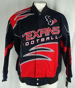 Houston Texans NFL G-III Men's Button Up Canvas Coat