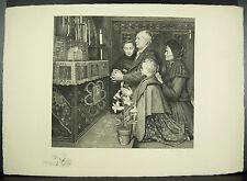 Eugène BULAND (1852-1927) gravure vers 1900 sur BFK RIVES Henri Joseph DUBOUCHET