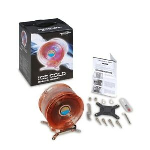"""***Brand New Ice Cold internal cpu fan """"MASS COOL"""" for gaming 2800. rpm"""