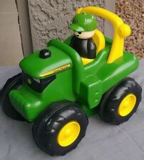 John Deere Tractor Toy Machinery Farm with Farmer Ertl Toddler
