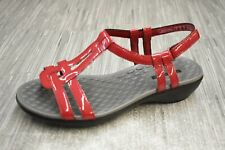 **CLARKS Sonar Aster (26134224) Sandals - Women's Size 6.5W - Red NEW!!