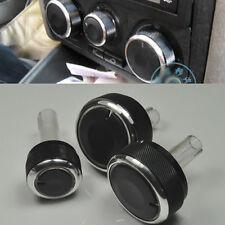 3 Aluminum Alloy AIR-CONDITION CONTROL ELEGANT SWITCH For VW 99-03 MK4 Golf Bora