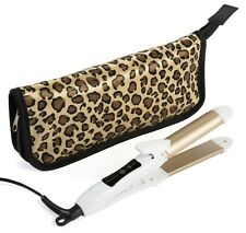 2-in-1 Mini  Straightener Travel Curling /Flat Iron REDUCED PRICE DUAL VOLTAGE