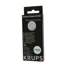 KRUPS XS3000 CLEANING TABLETS FOR COFFEE ESPRESSO MACHINE XP, EA, ES MODELS