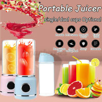 Portable 420ML USB Portable Mixer Rechargeable Juicer Shaker Bottle Travel