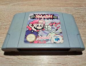 Nintendo N64 // Super Smash Bros. 1 // dt. PAL