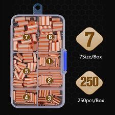 250Pcs/Case GT1-16mm² Wire Line Copper Tube Sleeve Crimp Connectors Terminals UK