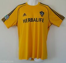 nwt~Adidas LA GALAXY Training FORMOTION MLS USA Soccer Jersey Shirt Top~Men sz L