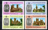 Tuvalu 1978 Coronation 25th Anniv MNH Set #R559