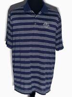 Nike Golf Tour Performance Dri-Fit PGA National Palm Beach Blue XL Polo Shirt
