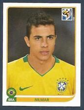 PANINI-SOUTH AFRICA 2010 WORLD CUP- #502-BRASIL/BRAZIL-NILMAR