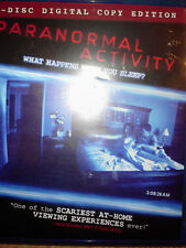 Paranormal Activity (Two-Disc Edition + Digital Copy). Blu-ray 2009 NEW GR8 DEAL