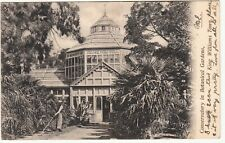 CGH: EDVII Postcard, Conservatory in Botanical Gardens, King Williams Town