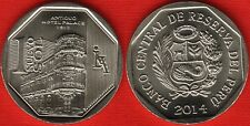 "Peru 1 nuevo sol 2014 ""Hotel Palace"" Unc"