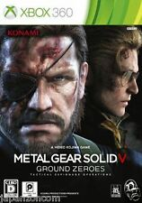 Used Xbox 360  Metal Gear Solid V MICROSOFT JAPAN JAPANESE JAPONAIS IMPORT
