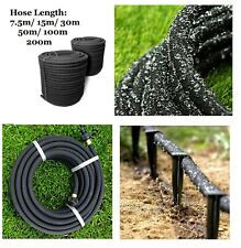 More details for porous pipe soaker hose system thick wallet, leaky garden irrigation 7.5m~200m