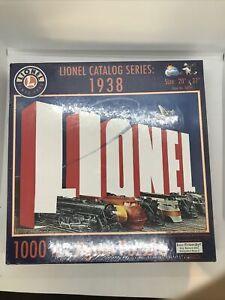 Lionel Trains 9-32015 Lionel Catalog Series 1938 Jigsaw Puzzle 1000 Pieces