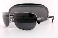 Brand New EMPORIO ARMANI Sunglasses 2033 3130/87 GUNMETAL/BLACK/GRAY Men