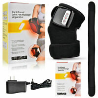 Electric Knee Joint Heat Support Arthritis Wrap Pain Relief Vibration Massage