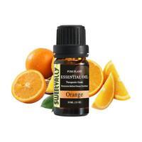 Orange Essential Oil Natural Aromatherapy Spa Body Relieve Stress Skin Care 10ml