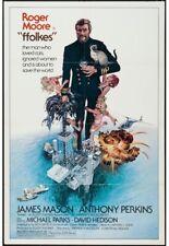 FFOLKES/NORTH SEA HIJACK original 1980 one sheet movie poster ROGER MOORE