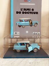 Voiture Tintin N°17 la Studebaker du Garage Simoun