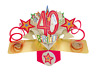 Happy 40th Birthday Pop-Up Greeting Card Original Second Nature 3D Pop Up Cards