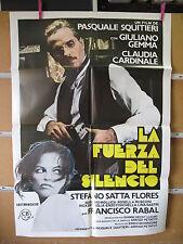 A2145    LA FUERZA DEL SILENCIO CLAUDIA CARDINALE GIULIANO GEMMA