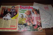 BURDA SPECIAL E 193 -- Puppenmode 1992 // BARBIE autant en emporte le vent-ferme pour