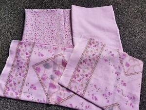 New*3,piece tavera lown fabric (unstitched)shalwar kameez suit top/bottom/scarf