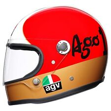 AGV Legends X3000 fa 1 AGOSTINI Limited Edition Classica Borsa in Pelle incluso