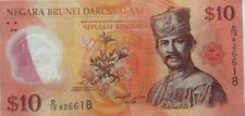 Brunei 5th Series Polymer Note 2011 $10 Note D/10 826618