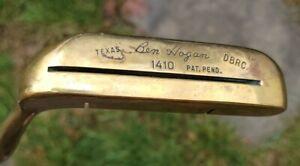 "Vintage Ben Hogan Texas DBRC 1410 Putter RH 35.5"" Fantastic condition!"