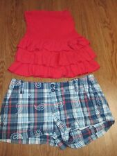 Girls Lot, Abercrombie Kids Top, L, Aeropostale Shorts, Size 0, Spring/Summer!
