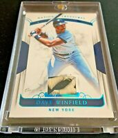 2018 Panini National Treasures DAVE WINFIELD Platinum NYY Patch Relic #d 1/1