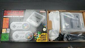 Super Nintendo SNES Classic Mini in Original Packaging