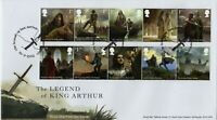 2021 GB LEGEND OF KING ARTHUR FDC GLASTONBURY *NICE* FIRST DAY COVER 16.3.21
