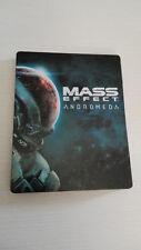 MASS EFFECT ANDROMEDA STEEL BOX - PS4 - PLAYSTATION 4 - NO CD - NO GIOCO