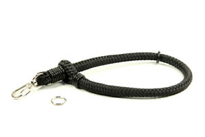 Lance Camera Straps USA Quick Connect Wrist Cord Rope Strap - Black