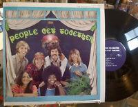 THE JOYOUS CELEBRATION People Get Together VINYL LP Private Christian XIAN Folk