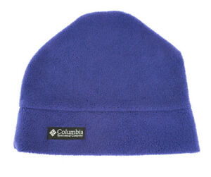 Columbia Youth Warm Fleece Cold Weather Beenie Winter Hat Purple Size L/XL