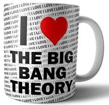 I Love The Big Bang Theory Mug - Cup - Birthday - Christmas - Gift