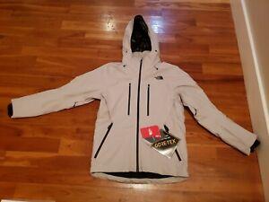 NWT Mens The North Face Anonym Jacket Medium Dove Grey Goretex