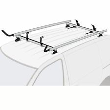 Chevy City Express 2015-present SILVER 2x Ladder Holder Aluminum Roof Rack