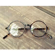 Nerd Brille filigran rund Glasses Klarglas Hornbrille treber 19R0 Tiger Skin