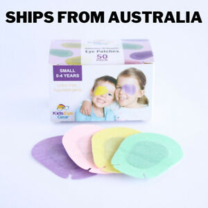 Kids Eye Gear Adhesive Eye Patches for Kids Lazy Eye SMALL MIXED Box 50 PPGY