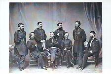 American Civil War Union General Sherman &  - American History Military Postcard