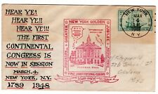 #951 on E.J. Henriques Hand Painted - 1st Continental Congress NYC 1948