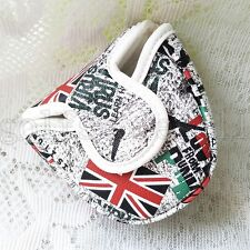 New Union Jack Golf Club Mallet Putter Cover Headcovers With Magnetic